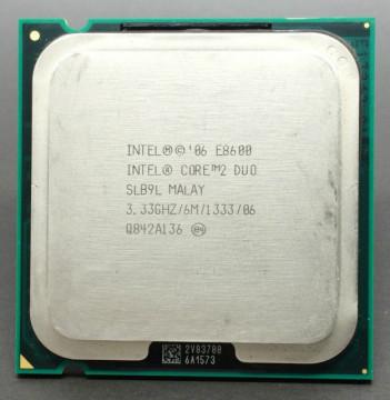 Intel Core™2 Duo E8600 3.33GHz 6MB LGA775 BOX