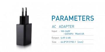NILLKIN Genuine USB AC EU Adapter 5V/2A