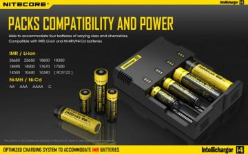 Nitecore Intellicharger i4 V2 - 2014 VERSION (Inteligentni punjač za sve tipove baterija)