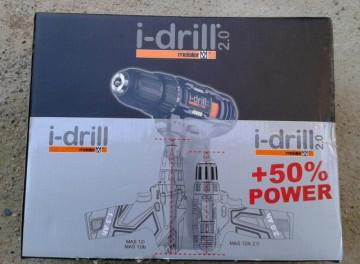 Meister Germany - Professional i-drill 2.0 Black Edition MAS 12ib 12V/2.1Ah (Aku bušilica/šrafilica/šauberica)