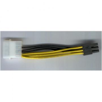 PCI-Express 6 Pin Power Adapter from Single Molex