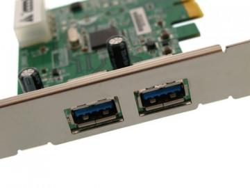 Transcend 2 Ports USB 3.0 PCI-E Express Card (TS-PDU3)