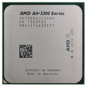 AMD A4-3300 X2 2.5GHz 1MB FM1 BOX