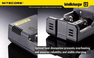 Nitecore Intellicharger i2 (Inteligentni punjač za sve tipove baterija)