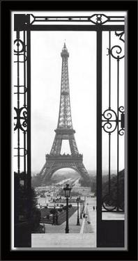 Slika Ajfelov toranj, uramljena slika