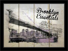 Brooklyn essentials, uramljena slika