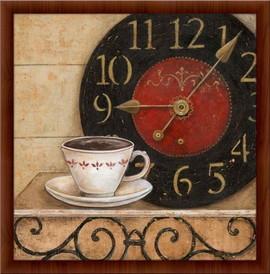 Slika Jutarnja kafa, uramljena slika