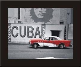 Kuba Libre, uramljena slika