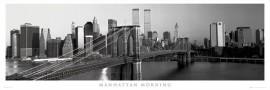 Slika Manhattan morning, uramljena slika