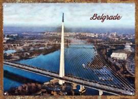 Slika Most Ada retro tabla
