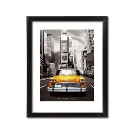 Slika NY Taxi NO1, uramljena slika, 60x80cm
