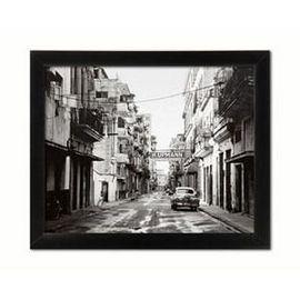 Stara ulica, uramljena slika