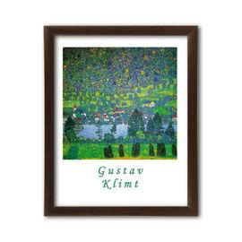 Unterah sull Attersee, Gustav Klimt, uramljena slika