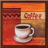Slika Coffee, uramljena slika