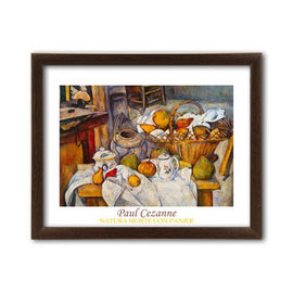 Slika Natura Morta Con Panier, Paul Cezanne, uramljena slika