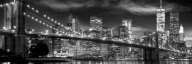 New York freedom tower, uramljena slika
