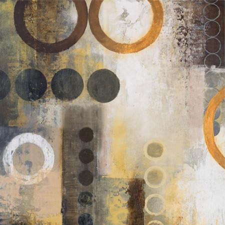 Yellow aps1, uramljena slika 70x70cm