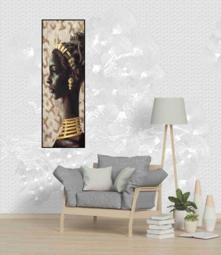 Aisha, uramljena slika dimenzije 35x100cm