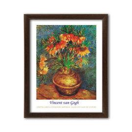 Frittilaires Couronne Imperial Dans Un Vase De Cuivre, Vincent van Gogh