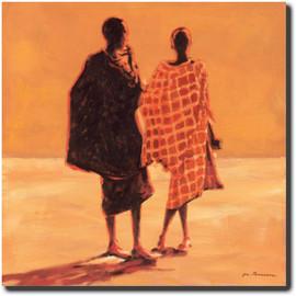 Slika Ljudi iz Savaiona,  slika na medijapanu
