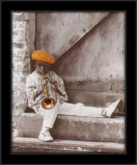 Mali maestro, uramljena slika