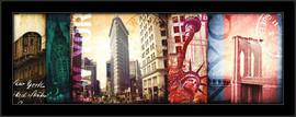 Njujork Njujork, uramljena slika