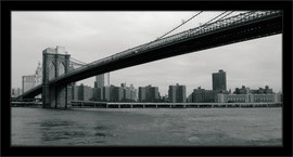 Slika Stari Njujork i Bruklinski most 2