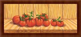 Slika Crveni paradajz, uramljena slika