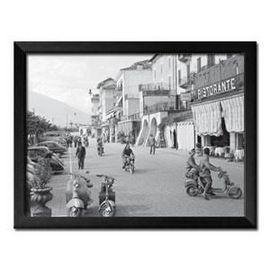 Slika Italijanski gradić, uramljena slika