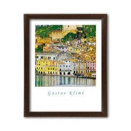 Slika Malcesine sul Garda, Gustav Klimt, uramljena slika