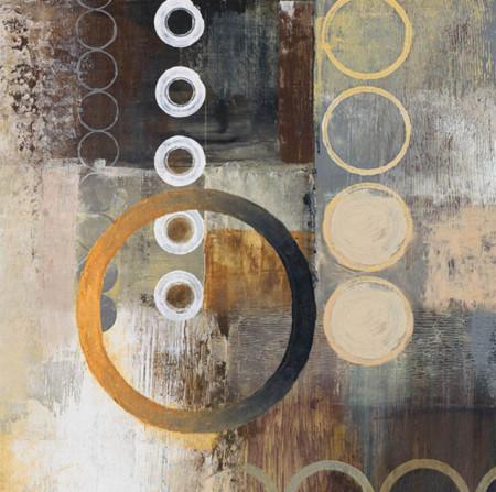 Yellow aps2, uramljena slika 70x70cm