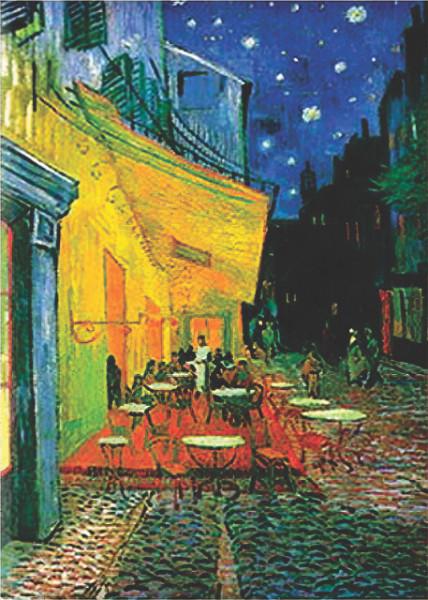 Cafe Van Gogh, uramljena slika 70x100cm