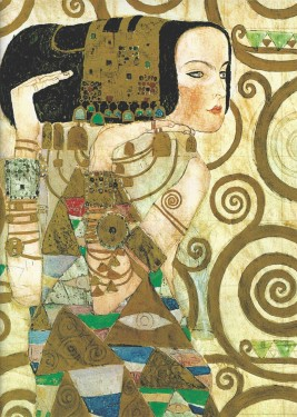 Expectation-Gustav Klimt, uramljena slika