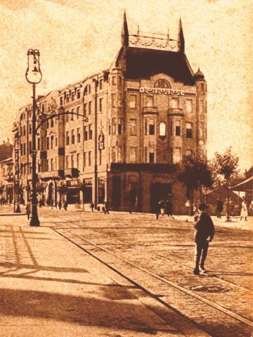Hotel Moskva, uramljena sllika
