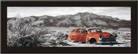 Slika Kubanski put, uramljena slika