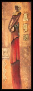 Slika Lepotica orijenta, uramljena slika