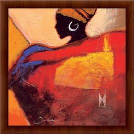 Slika Afrička vatra,  uramljena slika
