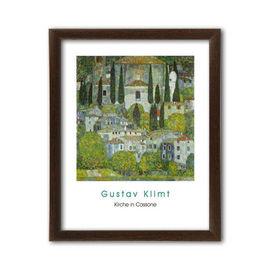 Kirche in Cassone, Gustav Klimt, uramljena slika