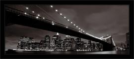 Slika Noćna svetla bruklinskog mosta