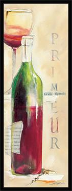 Primeur vino, uramljena slika