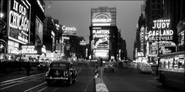 Times Square-1938, framed picture images
