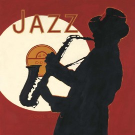 Slika Jazz cool soul, uramljena slika
