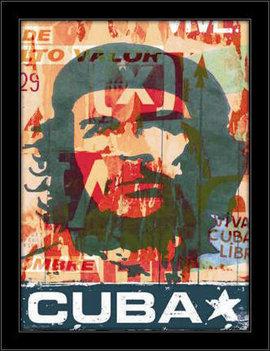 Slika Kuba Če Gevara, uramljena slika