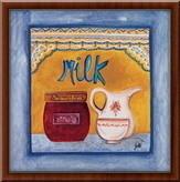 Milk,  uramljena slika