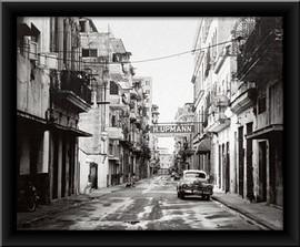 Stara Kuba 2, uramljena slika