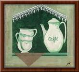 Caffe,  uramljena slika