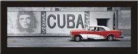Kuba Mural, uramljena slika