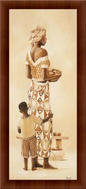 Slika Majka i dete 3, uramljena slika