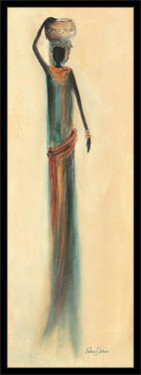 Slika Arabeska Jamila, uramljena slika