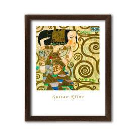 Expectation, Gustav Klimt, uramljena slika